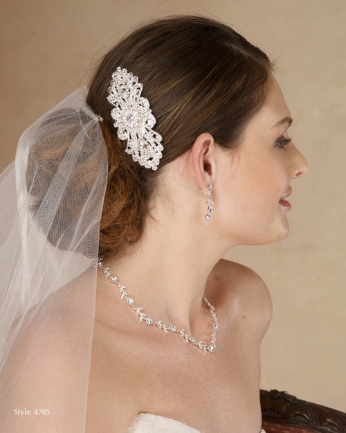 Marionat Bridal 4705 Rhinestone Comb- Le Crystal Collection