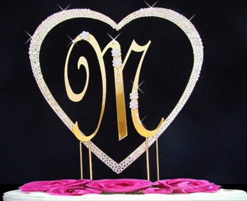 French Flower ~ Single Covered Heart with Large French Letter Set