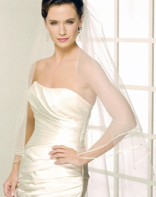 Bel Aire Bridal Wedding Veil V7121C - Cathedral Wedding Veil
