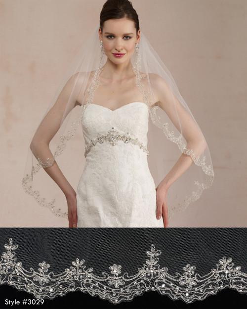 Marionat Bridal Veils 3029 -  The Bridal Veil Company