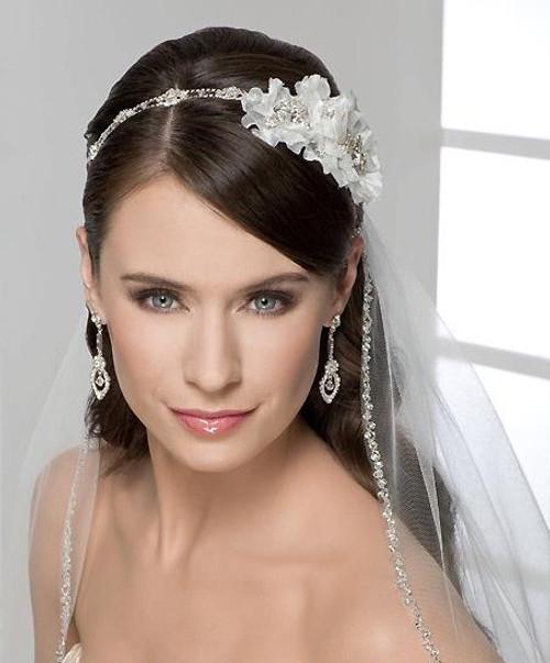 Bel Aire Bridal Wedding Veil V7116F- Fingertip Veil