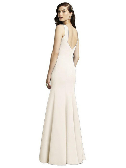 01f44a3ef2d Dessy Bridesmaids Dress Style 2936 - Ivory - Crepe - In Stock Dress