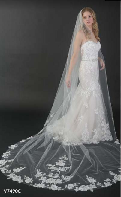 428fa7025ec Bel Aire Bridal Veils V7490C - 108