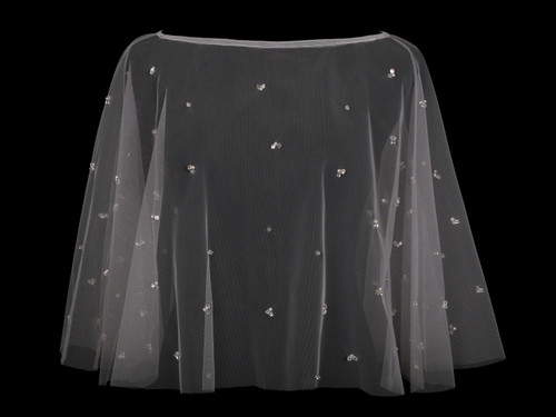 En Vogue Bridal Capelet CP1827 - Beaded design
