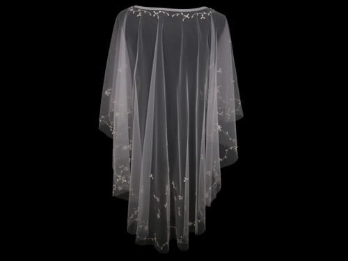 En Vogue Bridal Capelet CP1819 - Beaded design