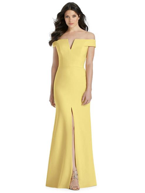 Dessy Bridesmaid Dress 3038 -Crepe