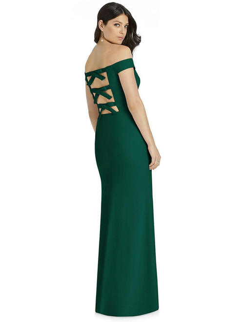 Dessy Bridesmaid Dress 3040 - Crepe