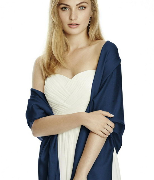 Wedding Pashmina - Event Pashmina - Midnight/Navy Color - Pashmina Shawls