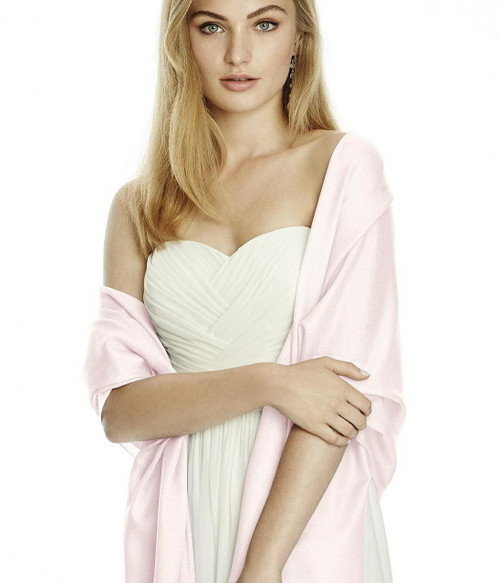 Wedding Pashmina - Event Pashmina -Blush Color - Pashmina