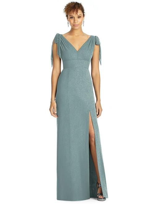 Studio Design Shimmer Bridesmaid Dress 4542LS - Lux Chiffon