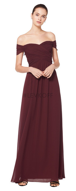 #LEVKOFF Bridesmaid Dress Style 7071 - Chiffon