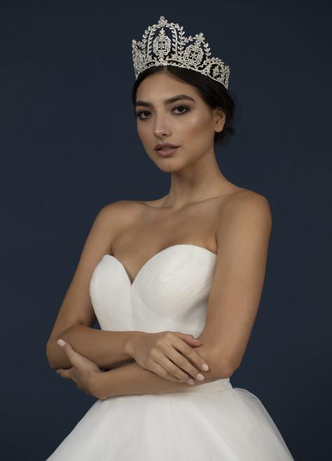 Elena Designs Headpiece E944 - Rhinestone crown