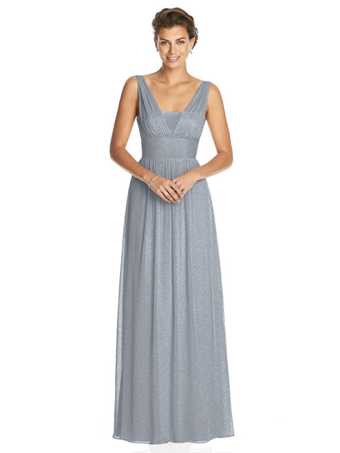 Dessy Shimmer Bridesmaid Dress 3026LS - Lux Shimmer