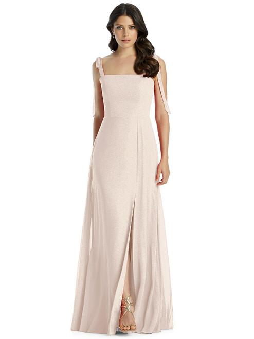 Dessy Shimmer Bridesmaid Dress 3042LS - Lux Shimmer