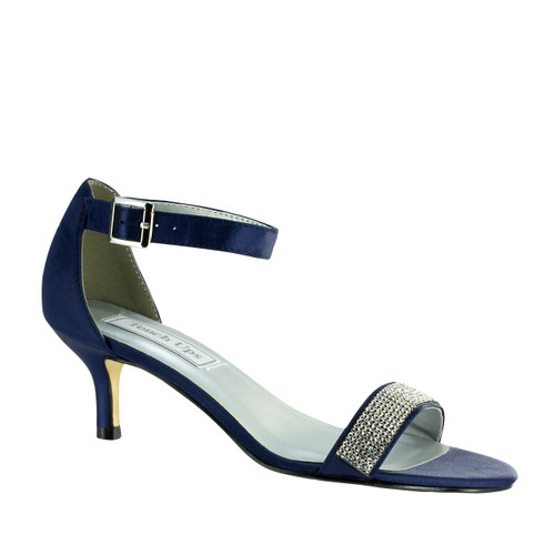 Touch Ups Isadora Navy Low Heel - 4336