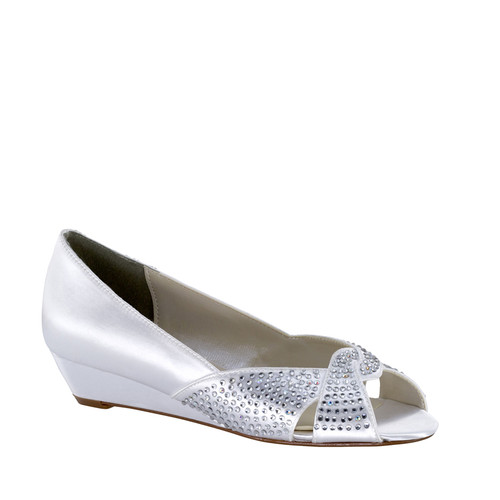 Dyeable Touch Ups Alice White Low Wedge 4064