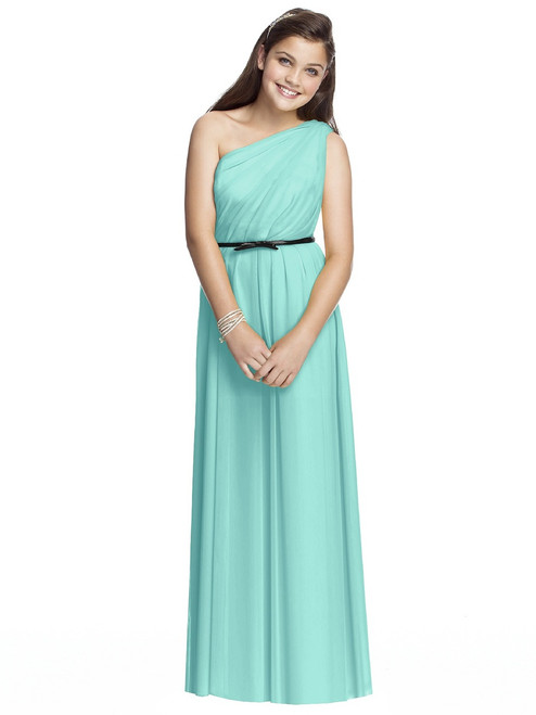 Dessy Collection Junior Bridesmaid Style JR525 - Chiffon knit