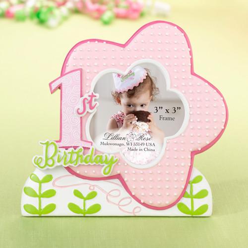 1st Birthday Frame - Pink - Lillian Rose
