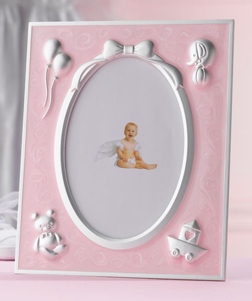 Pink Baby Frame - Lillian Rose