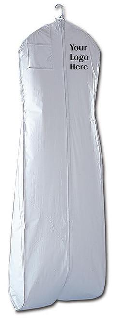 Vinyl Wedding Gown Garment Bag - White