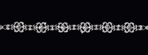 En Vogue Bridal Headband HB204- Rhinestone Headband