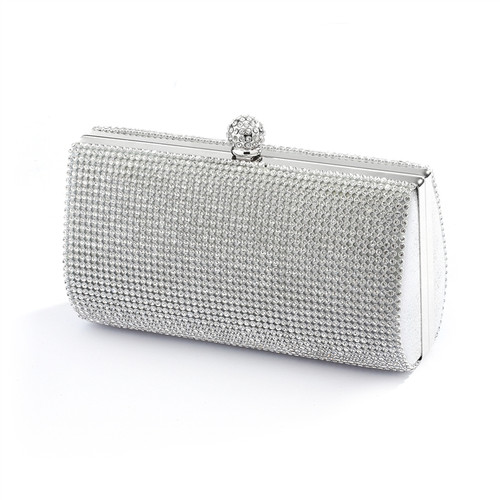 f6b1765e4f 2-Sided Crystal Evening Bag Clutch Minaudi̬re 4394EB-S