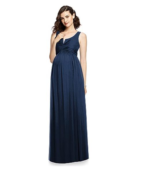 b5e2ecb86af8 Dessy Maternity Bridesmaids M424 by - Lux Chiffon | Maternity ...