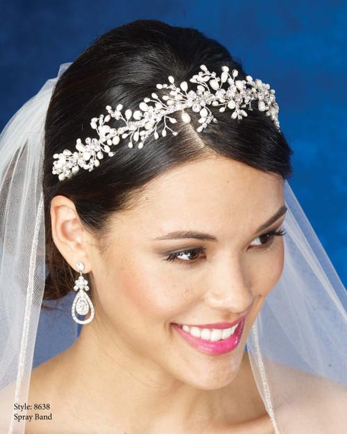 Marionat Bridal Headpieces 8638