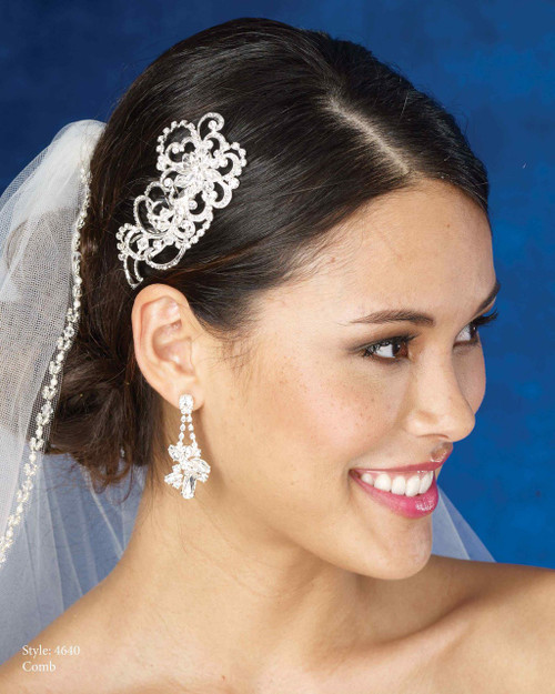 Marionat Bridal Headpieces 4640- Le Crystal Collection