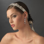 Vintage Rhinestone Bridal Ribbon Headband HP 8287