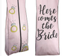 "Here comes the Bride Breathable Fabric Garment Bag - 72"" Inches Long w/Gusset"