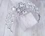 Bella Mera Studio - Duchess Crystal Crown - Quick Ship