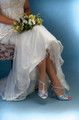 (Dyed Shoe) - Liz Rene Bliss Silk Satin Heel - 703