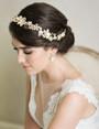 Bel Aire Bridal Earrings EA252 - Sparkling pear drop earrings