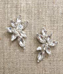 Bel Aire Bridal Earrings EA263 - Rhinestone drop earrings