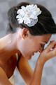 Erica Koesler Hair Clip A-5368 - Organza Flower Hair Clip