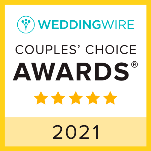 2021 WeddingWire Couples' Choice Awards®  Bella Mera Bridal Boutique Named Winner in 2021