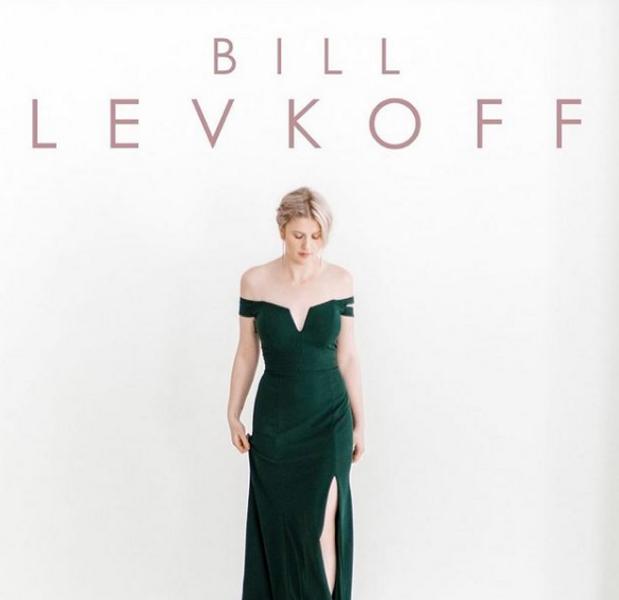 Bill Levkoff Crepe Evergreen Bridesmaids Dresses