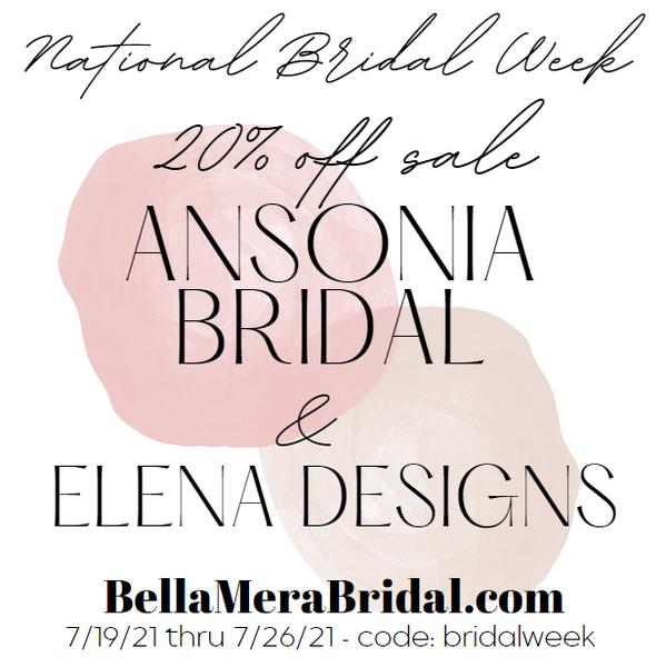 National Bridal Sales Week - Bella Mera Bridal
