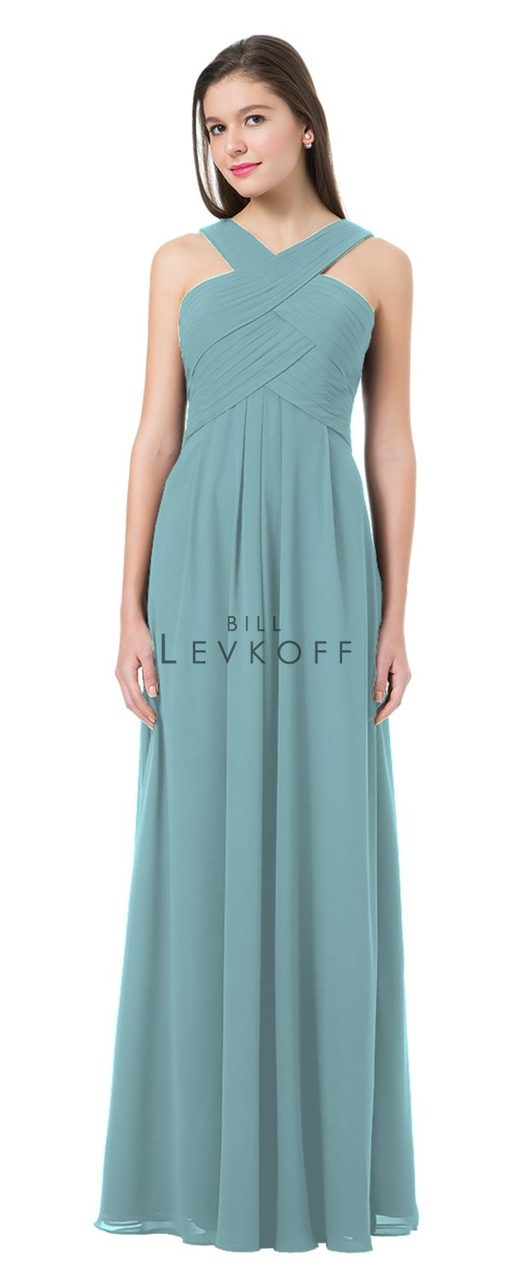 34b289ef14 Designer Bill Levkoff Bridesmaid Dress Style 1218 - Chiffon Dress
