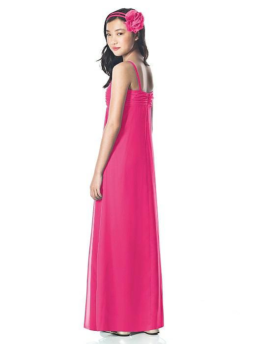 e83e922e0082 Dessy Junior Bridesmaid Style JR835 - Lux Shimmer Fabric