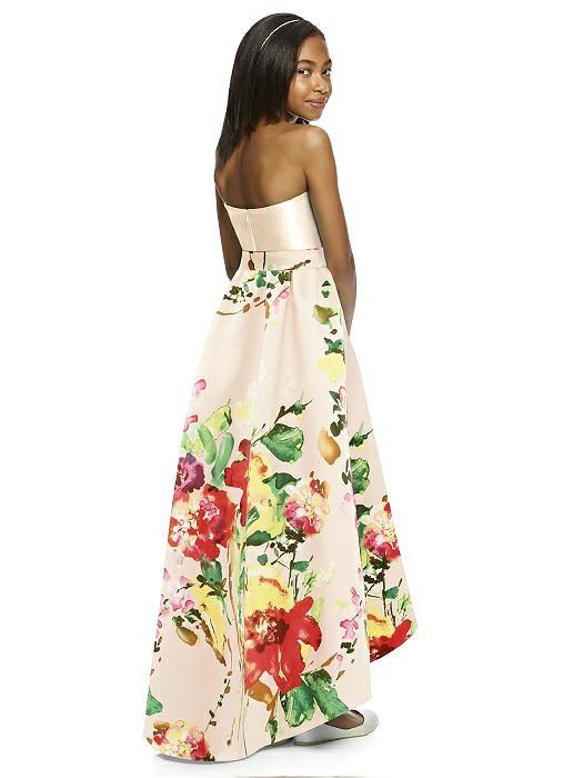 b35aeb40c Dessy Alfred Sung Junior Bridesmaid Style JR533CP - Blush Bouquet. ‹ ›
