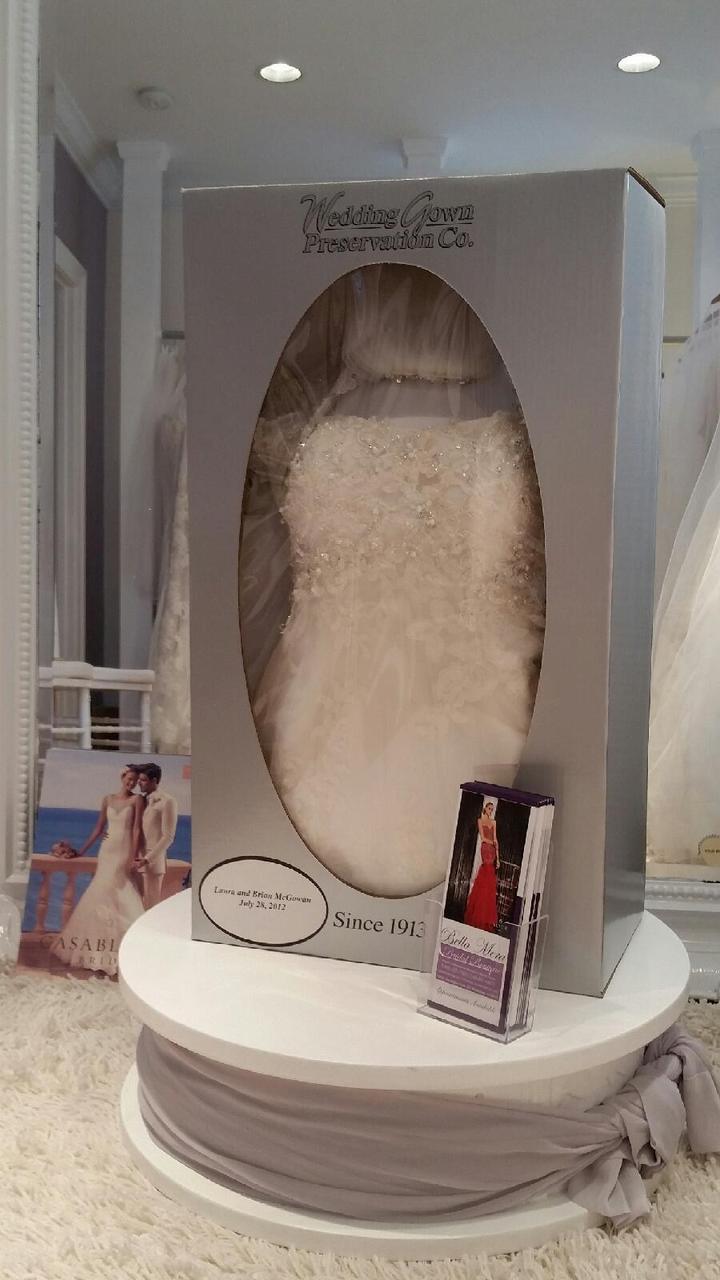 Wedding Gown Preservation Kits Celebrity Traditional Wedding Gown Preservation Kit