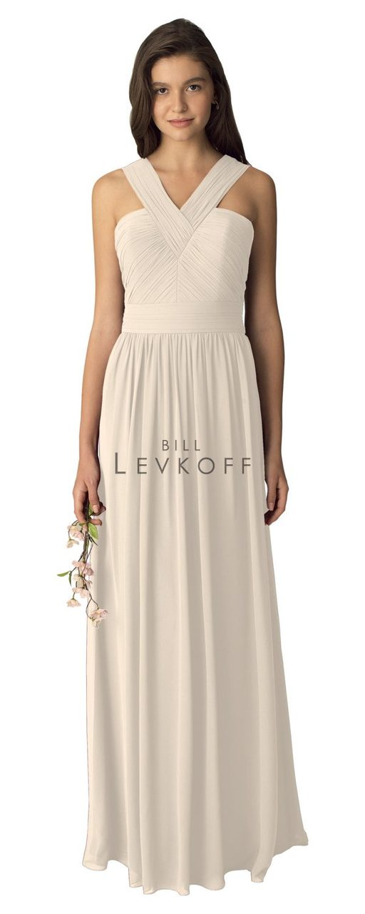 9ccc66b211c Designer Bill Levkoff Bridesmaid Dress Style 1276 - Chiffon Dress