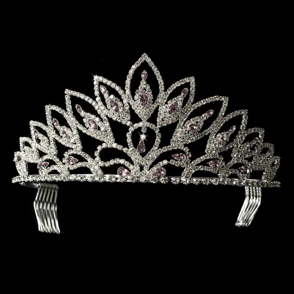 Crystal Rhinestone Pageant Crowns Tiaras Hp 243