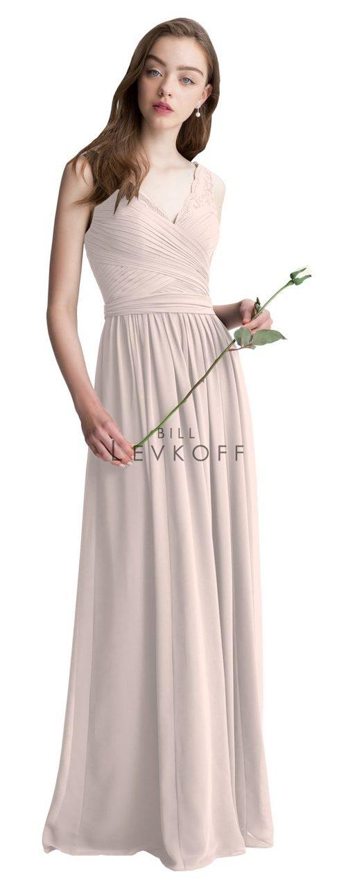 Bridesmaid Dresses Bill Levkoff Petal Pink