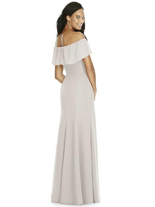 9e350befd58 Social Bridesmaids Dress 8182 - Matte Chiffon. ‹ ›