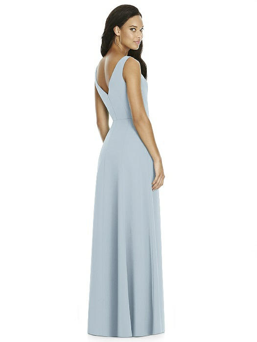 c2d8fb8d277 Social Bridesmaids Dress Style 8180 - Matte Chiffon - Mist - In Stock Dress