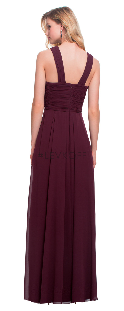 0b44cd02196  LEVKOFF - Bill Levkoff Bridesmaid Dress Style 7016 - Chiffon