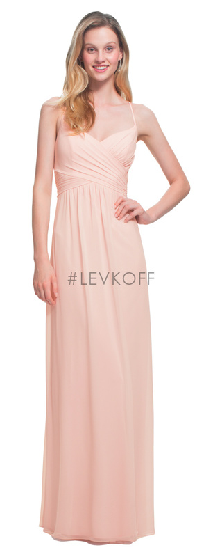80a9f302aa9  LEVKOFF - Bill Levkoff Bridesmaid Dress Style 7020 - Chiffon